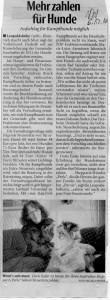 Pressemitteilung zur Hundesteuer in Leopoldshöhe am 06.12.2010